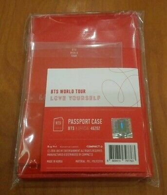 BTS Love Yourself World LY Tour Official Passport Case Cover ONLY