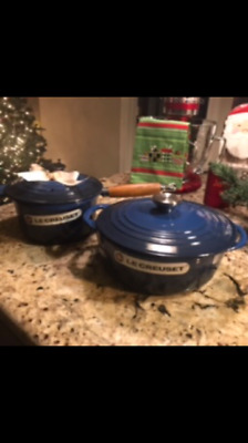 LE CREUSET MOTHER'S DAY 2015 - # 18 Sauce Pan W/Cover & # 22 Dutch Oven W/Cover