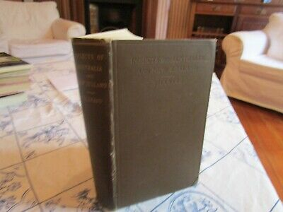 Insects Of Australia & New Zealand By R.j. Tillyard. 1926. 1St Ed. Rare Book.