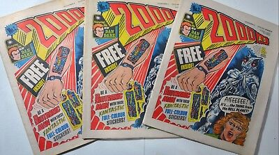 2000AD PROG 2 1st Judge Dredd Appearance Rare 1977 Comic Great Condition Issue