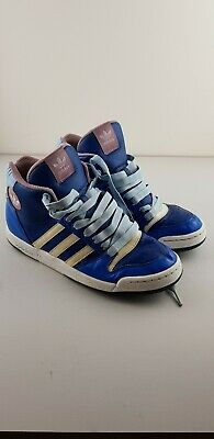 wholesale dealer 2c56b 7031f Adidas Midiru court mid - womens high tops size uk 5.5. Pink, blue and
