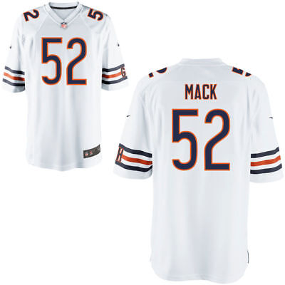 7fff5f229 Chicago Bears Khalil Mack Jersey White Stitched Embroidered Name   Numbers  Large