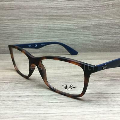 a2574c552e9 NEW RAY-BAN RB 7047 5574 Havana Eyeglasses Authentic Frame Rx Rb7047 ...