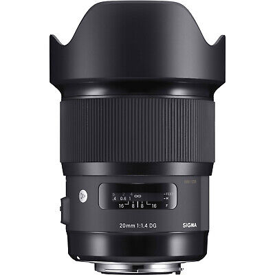 Sigma 20mm f/1.4 DG HSM Art Lens for Canon EF