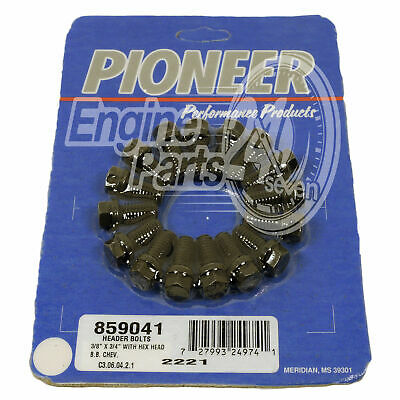 Ford 302 351 Cleveland Extractor Bolt Set Pioneer Pack Of 16 859041
