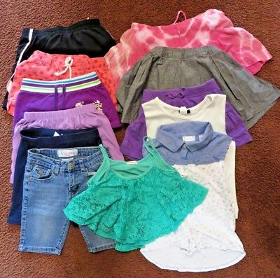 GIRLS  CLOTHING LOT -13 pieces.  (Size -7/8)