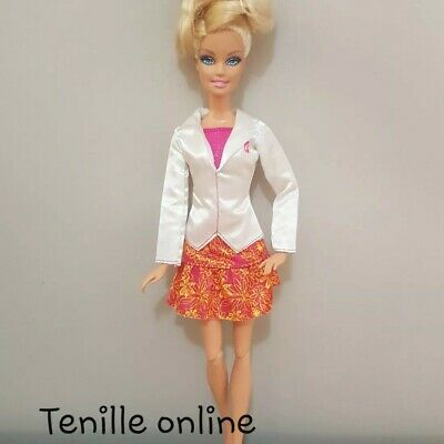 New Barbie doll clothes fashion outfit dress good quality doctor vet  AU seller
