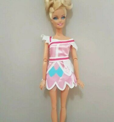 New Barbie doll clothes fashion outfit dress good quality pretty pink AU seller