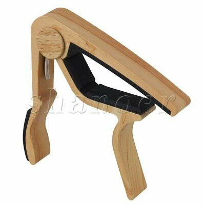 Premium Guitar Capo:  'Quick Change' Trigger Clamp for Acoustic Electric