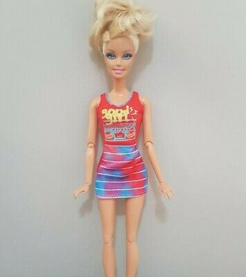 New Barbie doll clothes fashion outfit dress good quality pretty red AU seller