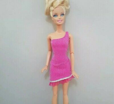 New Barbie doll clothes fashion outfit dress good quality hot pink AU seller