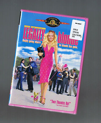 Legally Blonde (Dvd) Reese Witherspoon New
