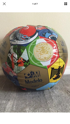 New Modelo Cerveza Beer Inflatable Oversized 33 Inches Promotional Beach Ball