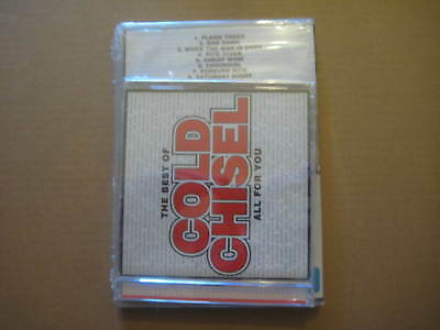COLD CHISEL The Best Of - All For You CD + Vision DVD - BRAND NEW SEALED COPIES
