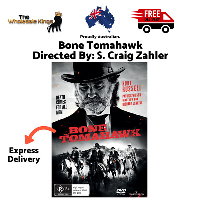 Bone Tomahawk Directed By: S. Craig Zahler (DVD) with Express Delivery