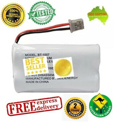 2x Ni-Mh 2.4V Replacement Battery for Uniden BT-904 BT-904s BT802 BT1007