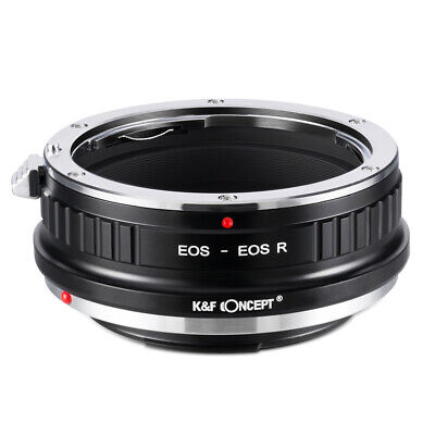 New K&F Concept adapter for Canon EOS EF EFS mount lens to Canon EOS RF camera