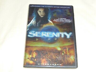 Serenity DVD Nathan Fillion – the movie after the series Firefly – like new