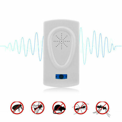 1PC Ultrasonic Pest Repeller US Plug Insect Bug Reject Anti Mouse Mosquito US/EU