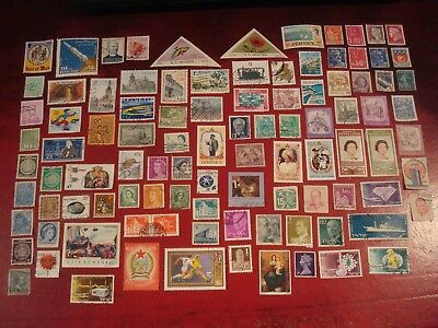 WORLDWIDE - 99 x WORLD STAMPS (7) - ALL DIFFERENT