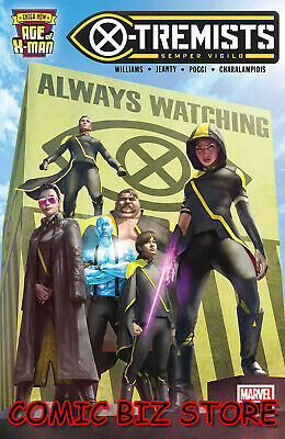 Age Of X-Man X-Tremists #1 (Of 5) (2019) 1St Printing Rahxxah Main Cover