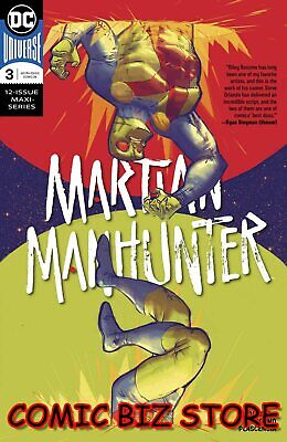 Martian Manhunter #3 (Of 12) (2019) 1St Printing Rossimo Main Cover Dc Universe