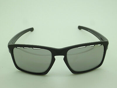 New OAKLEY SLIVER VENTED OO9262-42 Polished Black/Chrome Iridium 57mm Sunglasses