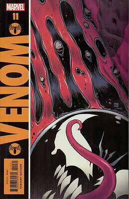 Venom Issue 11 - Dave Gibbons Watchmen Homage Variant Cover - Marvel Comics