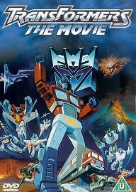 Transformers - The Movie DVD New & Sealed 5014293141253