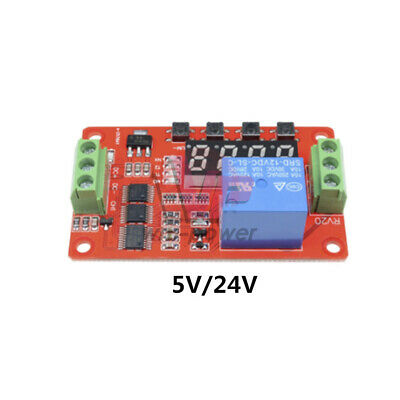 5V/24V PLC Relay Cycle Timer Module Home Automation Delay Multifunction Clock