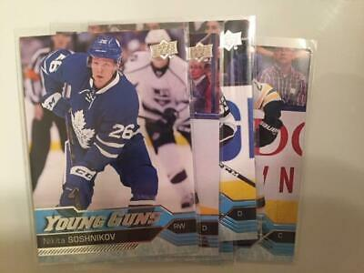 2016-2017 Upper Deck Series 1&2 YOUNG GUNS - pick your own
