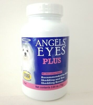 ANGELS EYES PLUS Natural Tear Stain Remover Powder Angel Eyes BEEF - 05/2019 USA