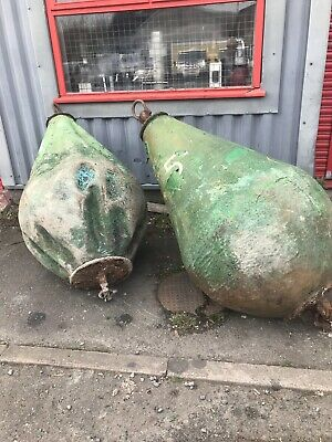 2 x Very Large Huge Starboard Markers Sea Buoys Nautical Memorabilia Film Props