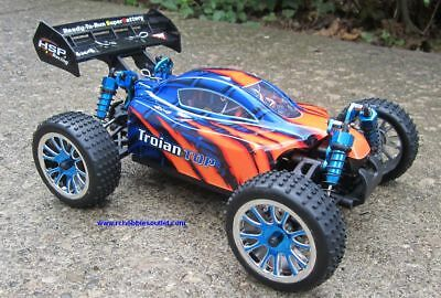 RC Brushless Electric Buggy / Car 1/16 Scale TOP LIPO  4WD RTR 1 Year Warr.18505