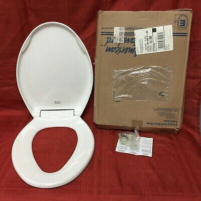 Outstanding Ts 61 Nos American Standard Toilet Seat W Lid White Beatyapartments Chair Design Images Beatyapartmentscom