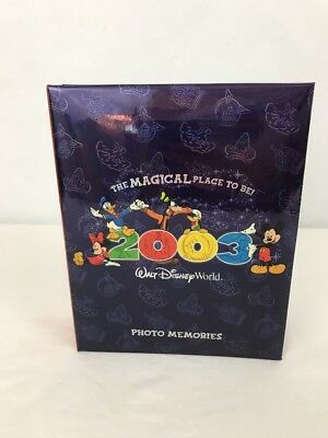 """Walt Disney World """"The Magical Place To Be!"""" Photo Album Memories 2003"""