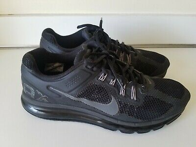 NIKE AIR MAX 2013 Black Dark Gray 554886 001 Men's Size 11