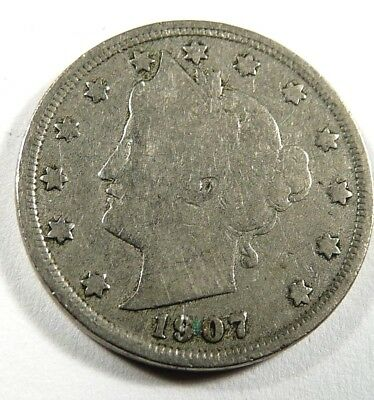 1907 Liberty Nickel G  - Low Shipping