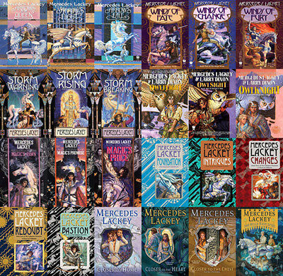 The VALDEMAR Series By Mercedes Lackey (24 MP3 Audiobook Collection)