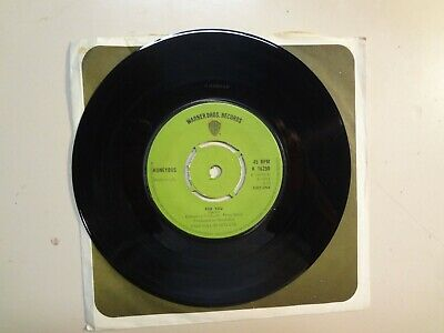 "HONEYBUS: For You 3:00- Little Lovely One 2:25-U.K. 7"" 1973 Warner Bros. K 16250"