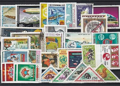 mongolia stamps ref 16177