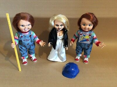 """Dream Rush : Child Play 2 Chucky with Tifanny & Good Guy 12"""" ( Set of 3  )"""