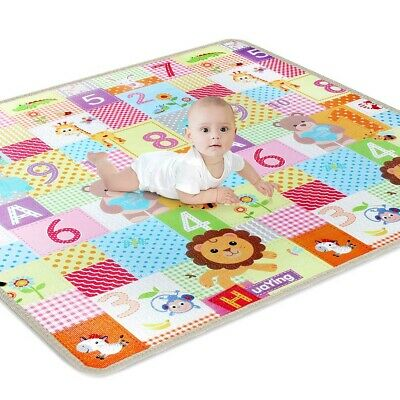 New 10 mm Thickness Two Sides Soft Kids Play Mat Cute Child Thick Picnic Carpet