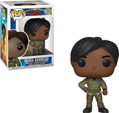 Captain Marvel - Maria Rambeau - Funko Pop! Marvel: (2019, Toy NUEVO)