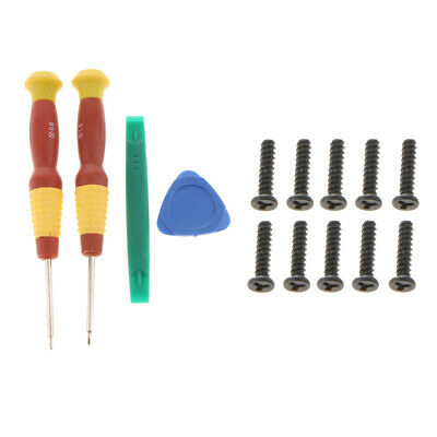 MagiDeal Screwdriver Kit Opening Tools + Tri-Point Screw for Nintendo Switch