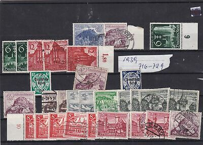 germany 1930's stamps ref 12289