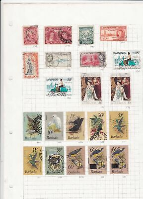 Barbados Stamps Ref 15076