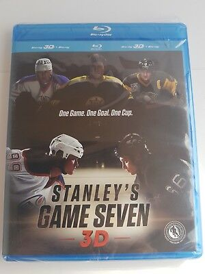 Stanley's Game Seven - HTF - RARE - 3D Blu-ray + Blu-ray - Brand New Sealed TSN