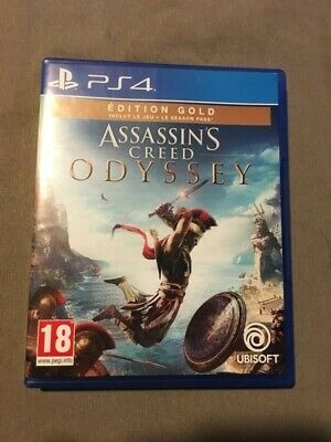 Assassin's creed odyssey edition gold ps4