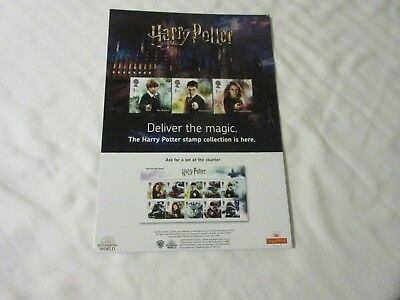 Rare Harry Potter. Royal Mail Advertising Board. Only